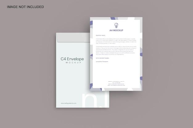 Modelo de envelope c4