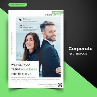 Modelo de folheto corporativo-10