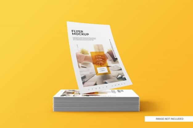 Modelo de folheto criativo