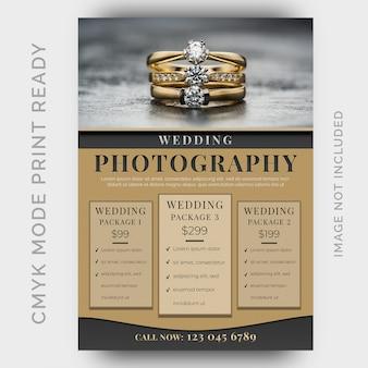 Modelo de folheto - estúdios de fotografia