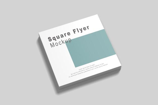 Modelo de folheto quadrado