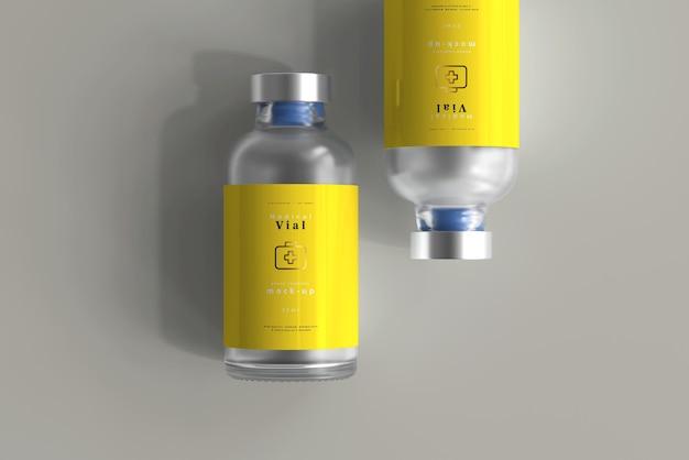 Modelo de frasco de 25ml