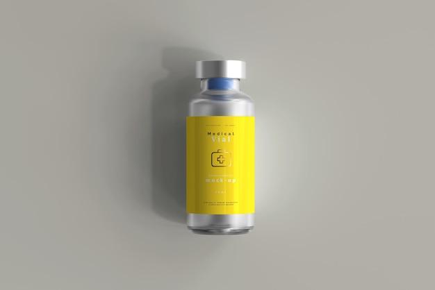 Modelo de frasco de frasco de 10ml