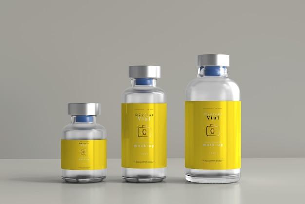 Modelo de frasco de frasco