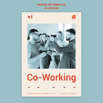 Modelo de impressão horizontal colaborativo