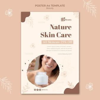Modelo de impressão para cuidados com a pele