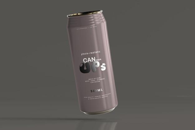 Modelo de lata de refrigerante 500ml