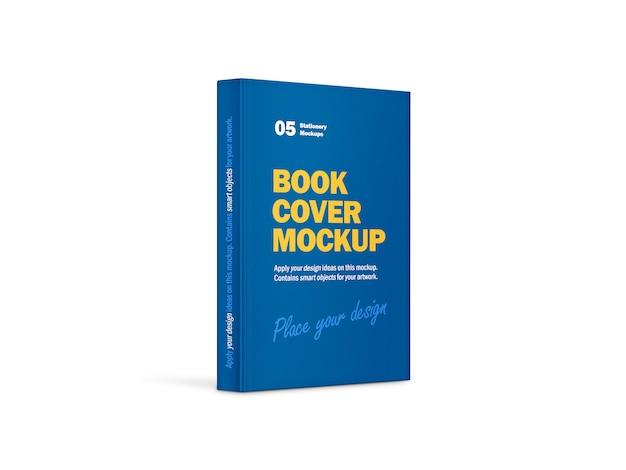 Modelo de livro vertical de capa dura