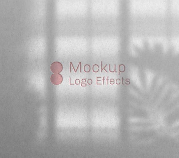 Modelo de logotipo para tipografia