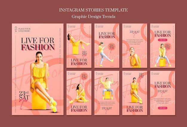 Modelo de loja de moda