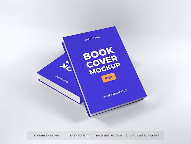 Modelo de maquete de capa de livro realista