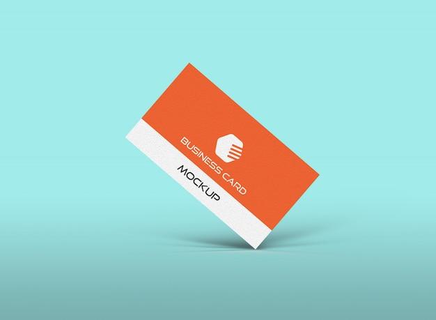 Modelo de maquete de cartão de visita