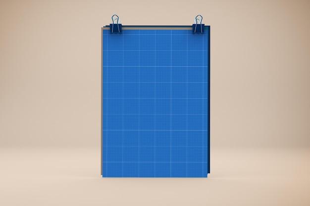 Modelo de papel a4