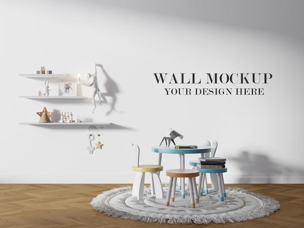Modelo de parede de creche