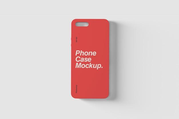 Modelo de photoshop de capa de telefone