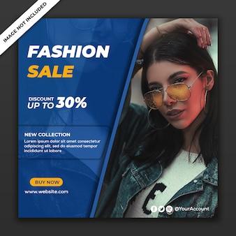 Modelo de postagem de mídia social instagram fashion sale collection