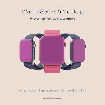 Modelo de relógio inteligente