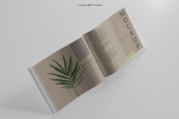 Modelo de revista de paisagem