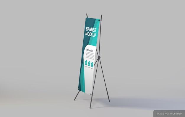 Modelo de suporte de banner esquerdo