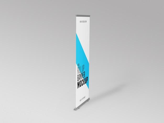 Modelo de suporte para banner de enrolar