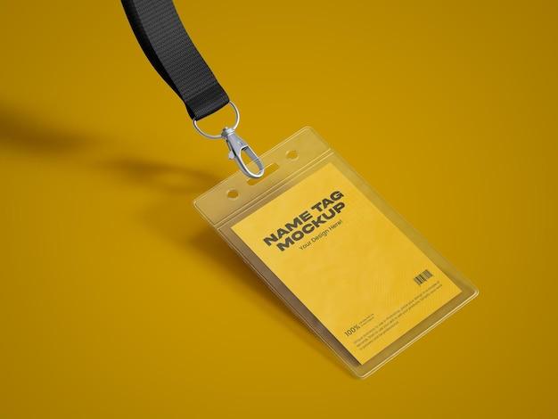 Modelo de tag de nome 24
