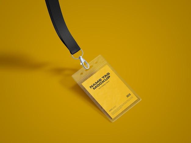 Modelo de tag de nome 2