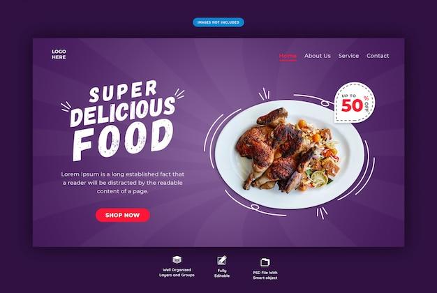 Modelo de web de restaurante