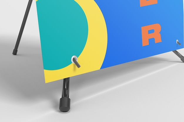 Modelo de zoom do banner x