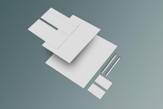 Modelo estacionário de maquete