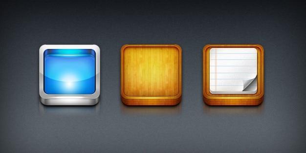 Modelos de ícone do iphone app