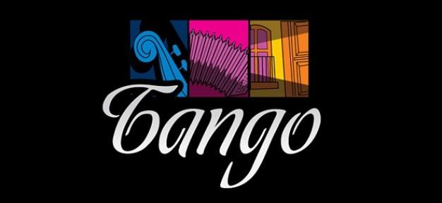 Música modelo de design livre logotipo