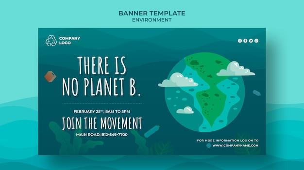 Não existe outro planeta para nós banner