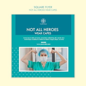Nem todos os heróis usam panfletos