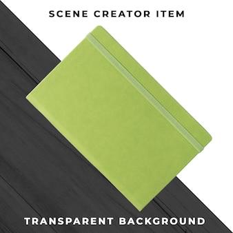 Notebook objeto transparente psd