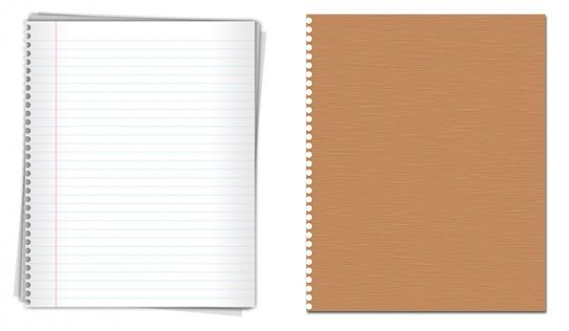 Notepaper gráficos de alta qualidade psd de download