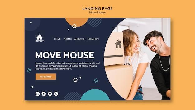 Nova casa nova página inicial