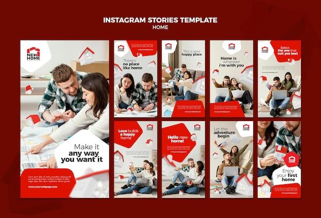 Novas histórias do instagram