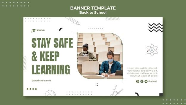 Novo banner normal de volta às aulas
