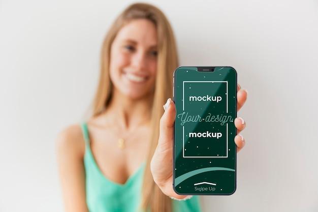 Novo modelo de conceito de smartphone