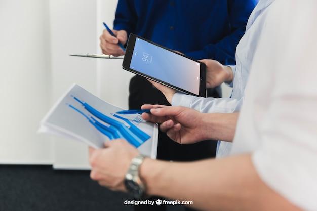O negócio se mapeia com o trabalho em equipe