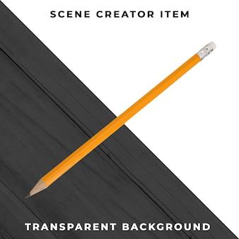 Objeto de lápis transparente psd