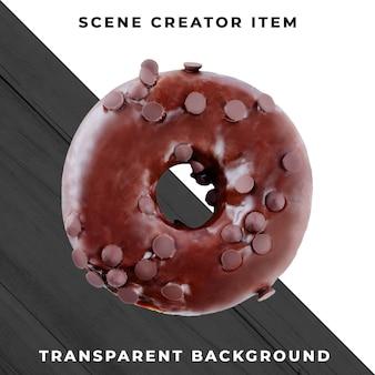 Objeto de rosca no psd transparente
