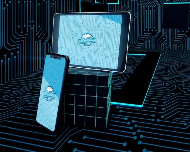Oferta de cyber segunda-feira para telefone e tablet