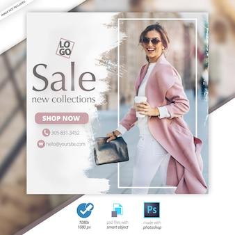 Oferta especial venda web social media banner