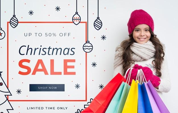 Oferta surpreendente de vendas no inverno