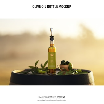 Olve oil bottle maquete