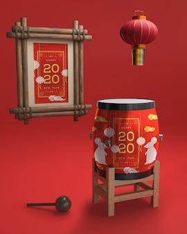 Ornamentos para o ano novo chinês