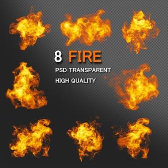 Pacote de estilos de fogo