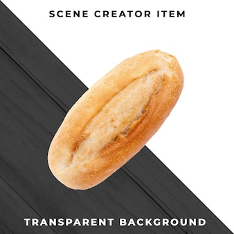Padaria de pão transparente psd