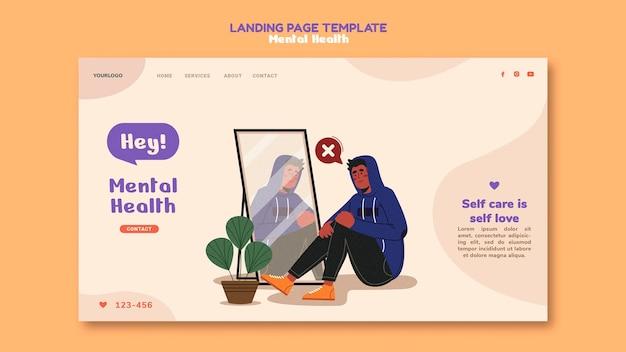 Página de destino de saúde mental